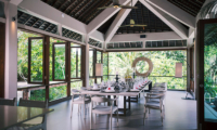 The Arsana Estate Dining Area with Garden View | Tabanan, Bali