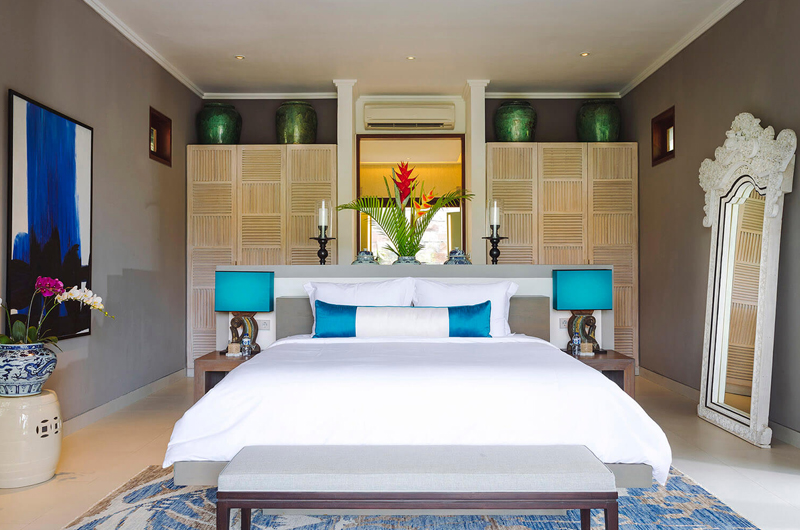 The Arsana Estate Bedroom with Table Lamp | Tabanan, Bali