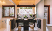 The Arsana Estate His and Hers Bathroom | Tabanan, Bali