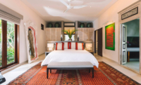 The Arsana Estate Bedroom with Table Lamps | Tabanan, Bali