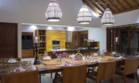 Villa Asada Dining Area | Candidasa, Bali