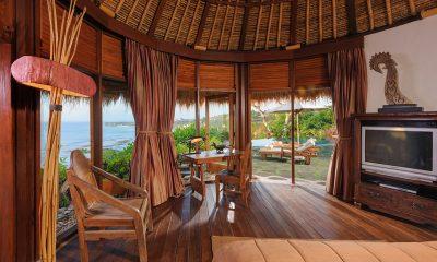 Villa Bayuh Sabbha Master Bedroom Ocean Views | Uluwatu, Bali