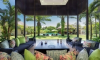 Villa Bendega Nui Open Living Area View to Pool | Canggu, Bali