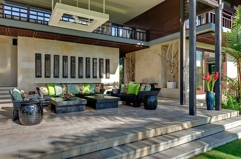 Villa Bendega Nui Outdoor Living Area   Canggu, Bali