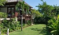 Villa Bendega Nui Bedroom Balcony from Gardens   Canggu, Bali