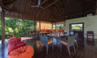 Villa Bendega Nui Open Air Dining Area | Canggu, Bali