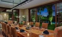 Villa Bendega Nui Dining Area   Canggu, Bali