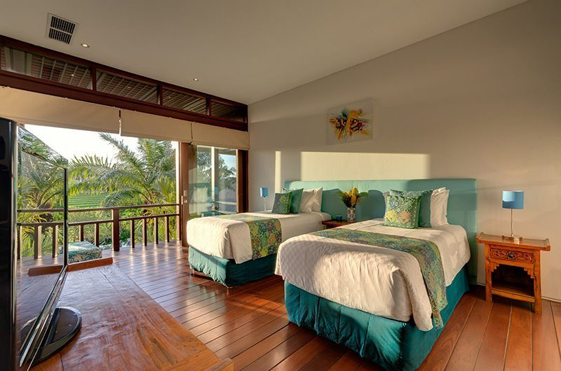 Villa Bendega Nui Twin Bedroom with Balcony | Canggu, Bali