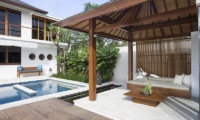 Villa Cendrawasih Outdoor Seating   Petitenget, Bali