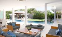 Villa Cendrawasih Living Room   Petitenget, Bali