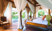 Villa Hansa Four Poster Bed with Wooden Floor | Canggu, Bali