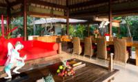 Villa Maridadi Living and Dining Area | Seseh, Bali
