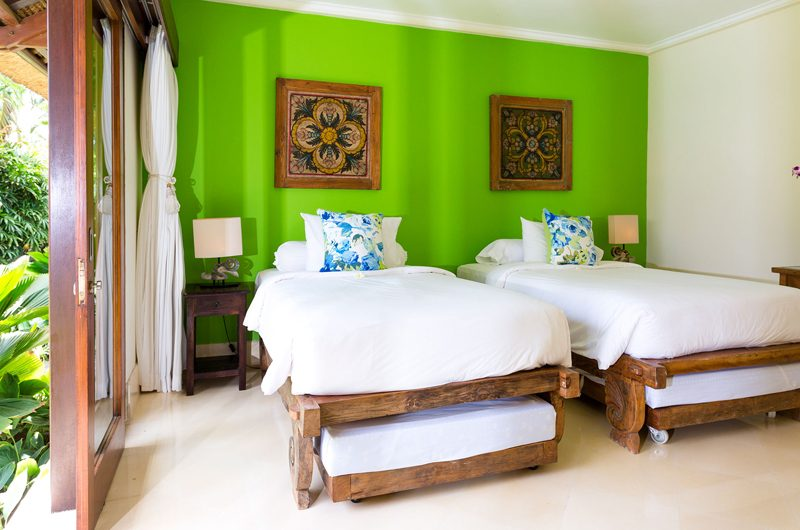 Villa Maridadi Twin Bedroom | Seseh, Bali