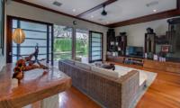 Villa Samadhana Media Room I Sanur, Bali