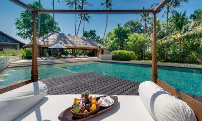 Villa Samadhana Pool Sise Seating Area | Sanur, Bali