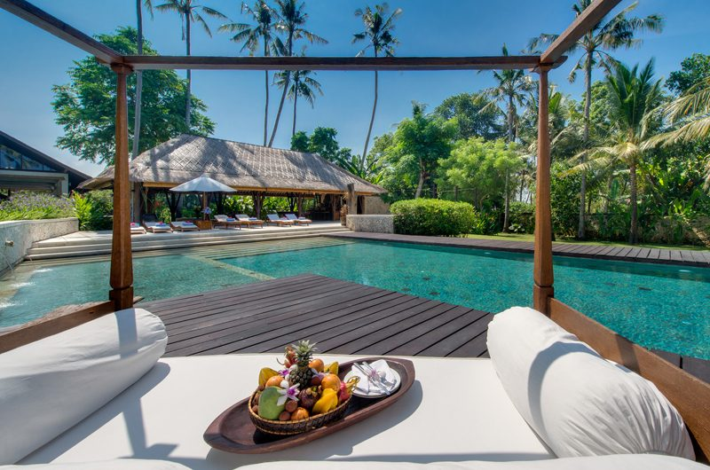 Villa Samadhana Pool Side Seating Area | Sanur, Bali