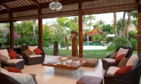 Villa Sati Living Area | Canggu, Bali