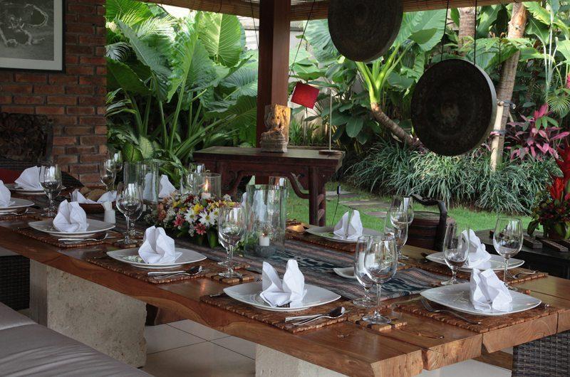 Villa Sati Dining Area | Canggu, Bali