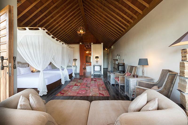 Villa Sayang d'Amour Bedroom with Twin Beds | Seminyak, Bali