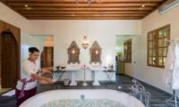 Villa Sayang d'Amour Romantic Bathtub Set Up | Seminyak, Bali