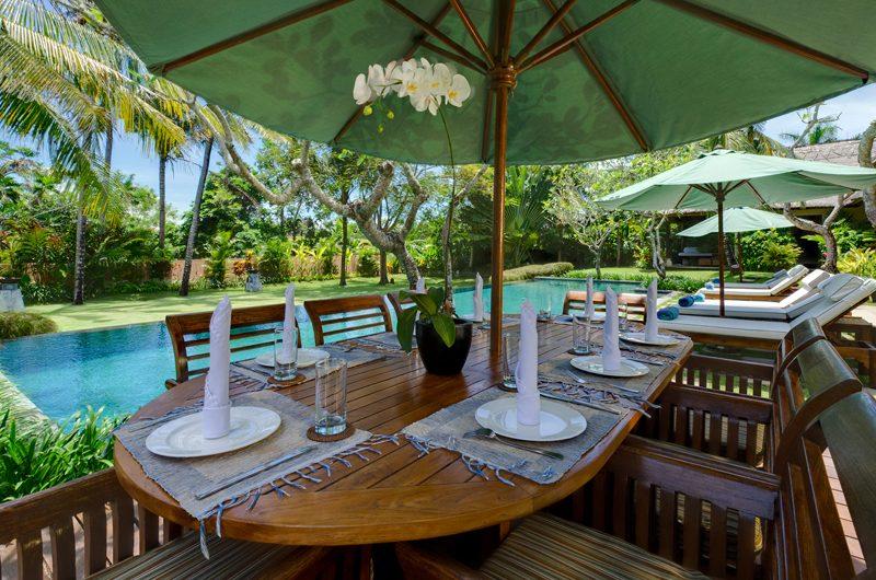 Villa Surya Damai Outdoor Dining | Umalas, Bali
