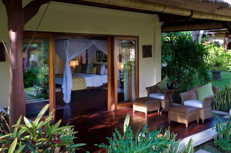 Villa Surya Damai Bedroom Terrace | Umalas, Bali
