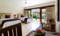 Villa Surya Damai Twin Bedroom | Umalas, Bali