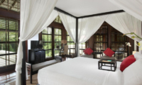The Sanctuary Bali King Size Bed with TV | Canggu, Bali