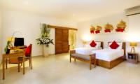 The Sanctuary Bali Twin Bedroom with TV | Canggu, Bali