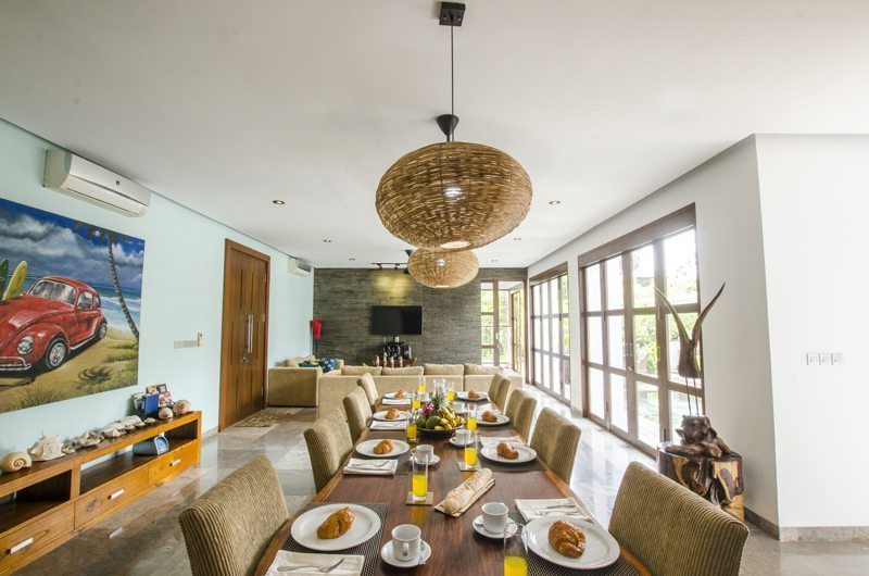 Marys Beach Villa Living and Dining Area | Canggu, Bali