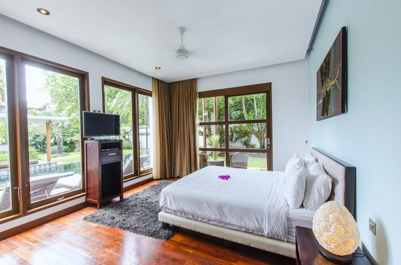 Marys Beach Villa Bedroom with Pool View | Canggu, Bali