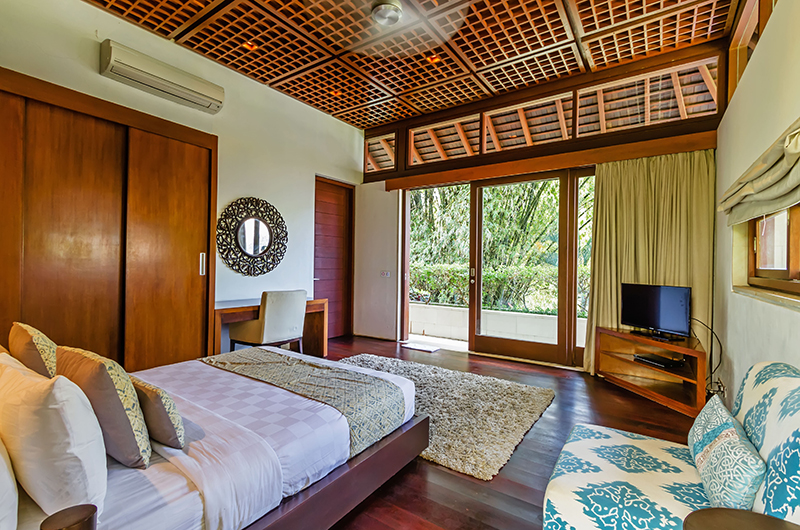 Villa Champuhan Bedroom with TV | Seseh, Bali