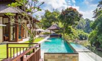 Villa Champuhan Pool with River Views | Seseh, Bali