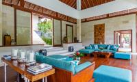 Villa Champuhan Living Room | Seseh, Bali