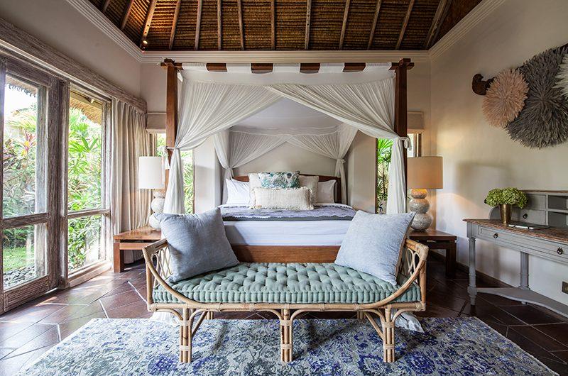 Villa Inti Bedroom Area with Garden View | Canggu, Bali
