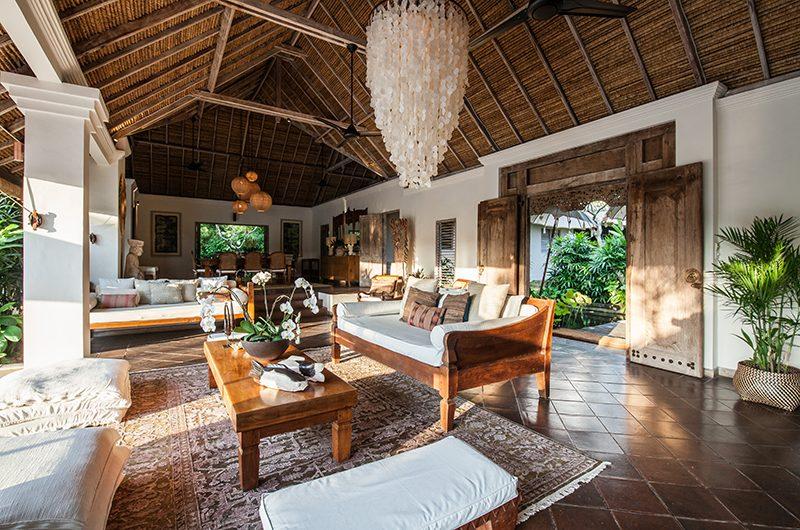 Villa Inti Open Plan Living and Dining Area | Canggu, Bali