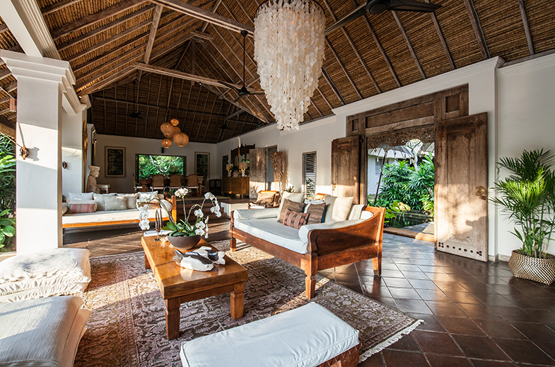 Villa Inti Open Plan Living and Dining Area | Canggu, Bali