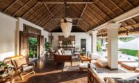 Villa Inti Open Plan Living Room | Canggu, Bali