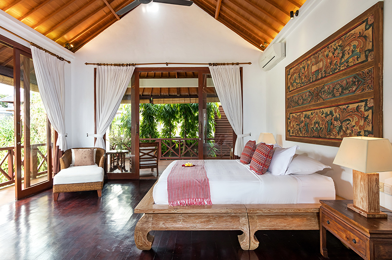 Villa Kipi Spacious Bedroom One   Seminyak, Bali