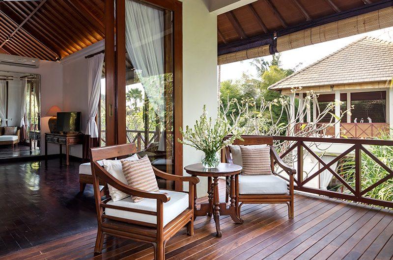 Villa Kipi Bedroom One Balcony   Seminyak, Bali