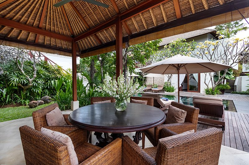 Villa Kipi Seating | Seminyak, Bali