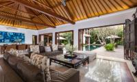 Villa Kipi Open Plan Living Area   Seminyak, Bali