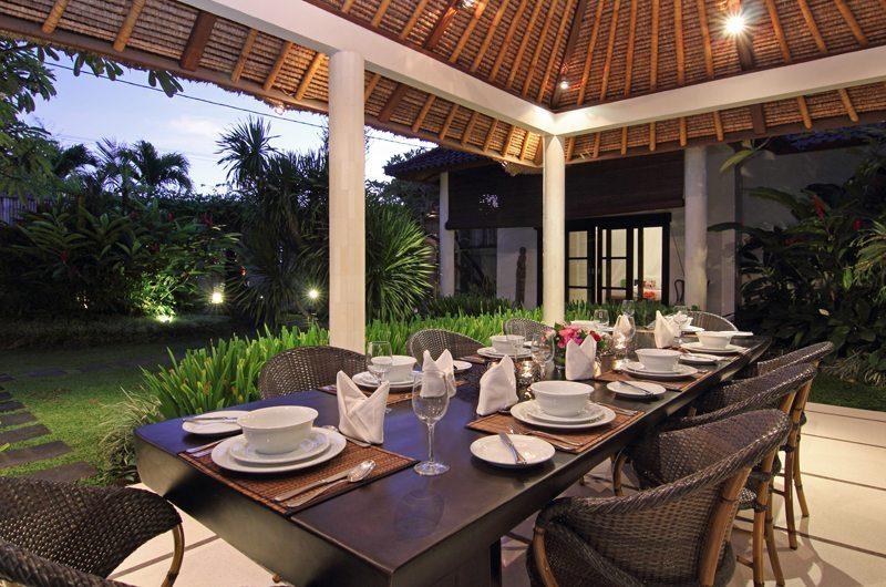 Villa Sesari Outdoor Dining Area | Seminyak, Bali