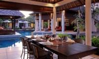 Villa Sesari Outdoor Dining | Seminyak, Bali