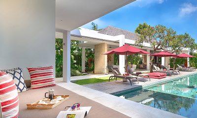Casa Brio Lounge with Pool View | Seminyak, Bali