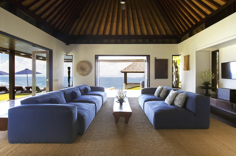 The Ungasan Clifftop Resort Villa Pawana Living Area | Ungasan, Bali