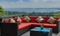 Villa Aiko Outdoor Lounge Area | Jimbaran, Bali