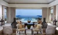 Villa Anugrah Living Area with Pool View | Uluwatu, Bali