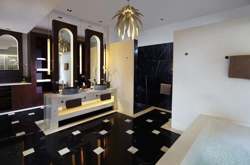 Villa Anugrah His and Hers Bathroom | Uluwatu, Bali