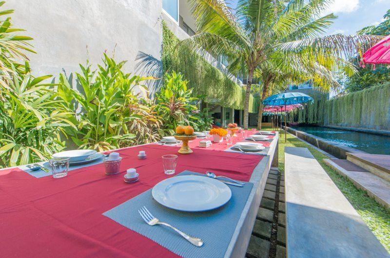 Villa Simpatico Outdoor Dining | Seminyak, Bali